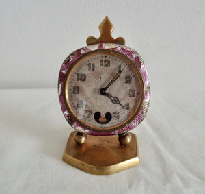 1920s Theodore Jequier Swiss Ladies Travel Clock Brevet #93017
