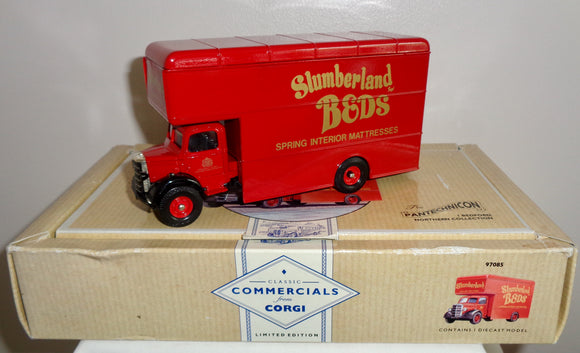 1991 Corgi Slumberland Beds Model Commercial Bedford Truck