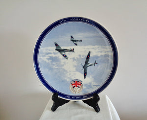 Wedgwood 60th Anniversary VE Day Commemorative Plate