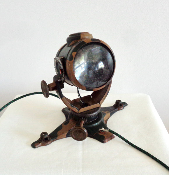 WW2 Tippco Tinplate Antiaircraft Searchlight