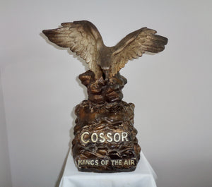 1930s Cossor Eagle Kings Of The Air Advertising Figurine Number 285