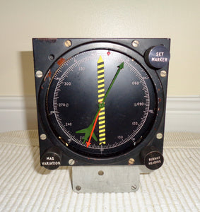 Vintage Aircraft Flight Combination Instrument Meter