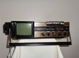 1980s Sony FX 412UK Combination Analogue TV/3-Band Radio/Cassette Player