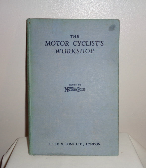 1930s The Motorcyclist's Workshop By Torrens