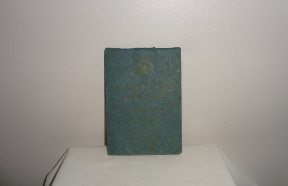 1938 Sea Cadet Corps Pocket Manual