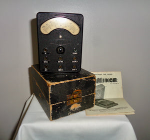 1930s ACWEECO AVO Minor 13-Range Moving Coil Multimeter
