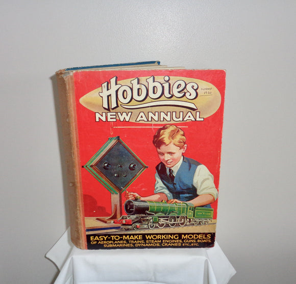1930s Hobbies New Annual Of Easy To Make Working Models