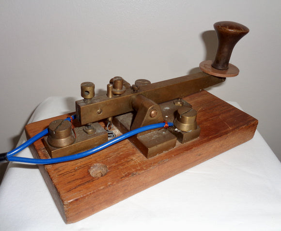 1916 Elliott Brothers British GPO Pattern Morse Key