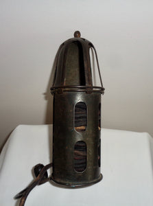 1930s Air Ministry RAF Inspection Lamp With Power Supply
