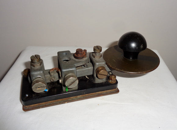 1940s Group 1 No.2 Key WT 8 Amp Morse Key
