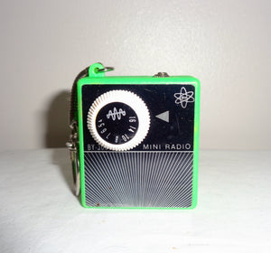 1960s Mini Radio BY-300 Portable Battery Micro Pocket Transistor