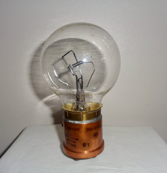 1961 Avro Vulcan GEC 26V/500W 28V/280W Twin Filament Landing Light Bulb