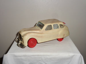 1950s Ever Ready Toy Electric Car Austin A70 Made of Early Plastic