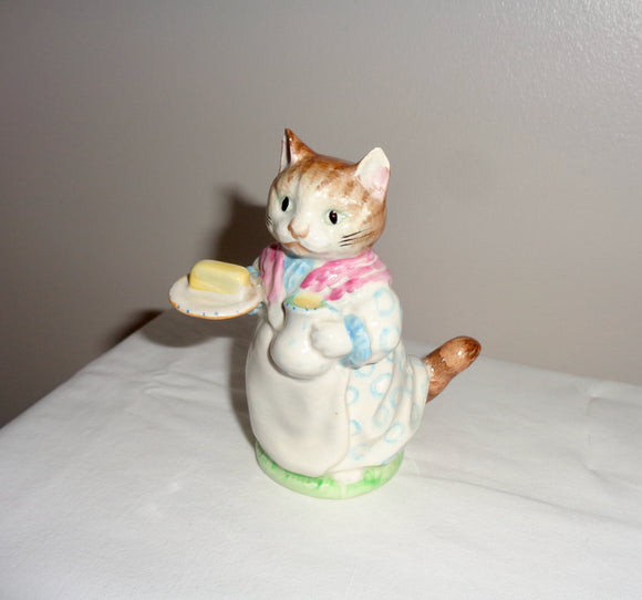 1951 Beswick China Beatrix Potter Ribby Figurine