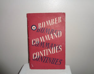 1942 Bomber Command Continues Booklet By The Air Ministry