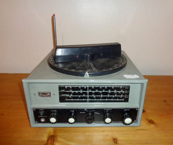 1960s Perdio Marine Direction Finding Radio MW/LW/SW Trawler Band