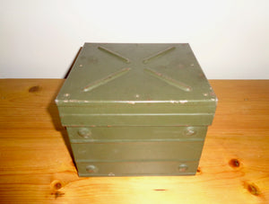 WW2 Military Transit Case Originally For A Wavemeter Class D No.1 MkII
