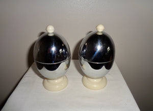 1940s Vintage Heatmaster Insulated Egg Cups Boxed Pair