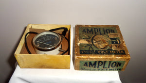 Vintage Amplion Pocket Volt meter Model 33A