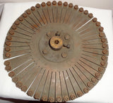 Vintage Telegraphy Uniselector Wheel