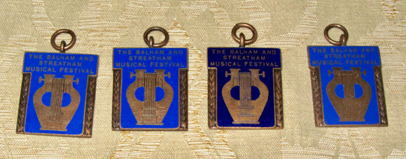 1940s Balham And Streatham Musical Festival Dance Medals