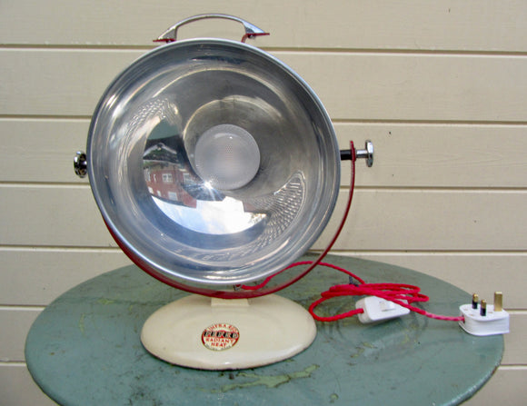 1950s PIFCO Infra Red Medical Lamp Repurposed As A Desk Lamp