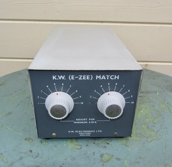 KW E-ZEE Match KW Electronics Antenna Tuning Unit Balanced ATU