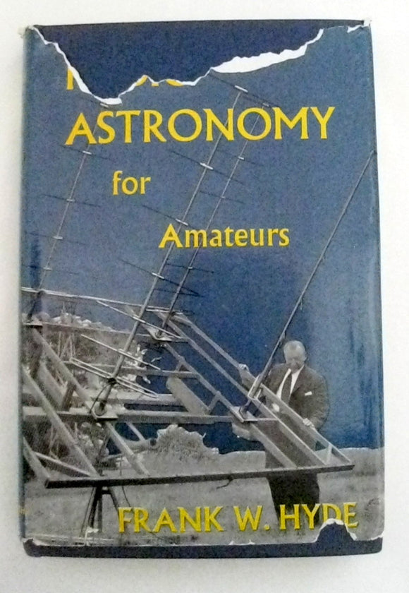 1962 Radio Astronomy For Amateurs By Frank Hyde