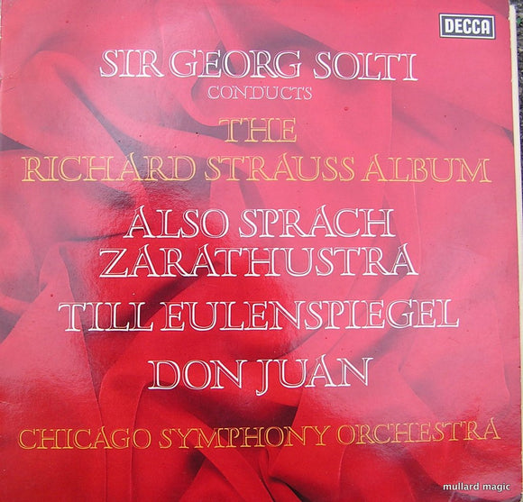 Sir Georg Solti Conducts The Richard Strauss Album