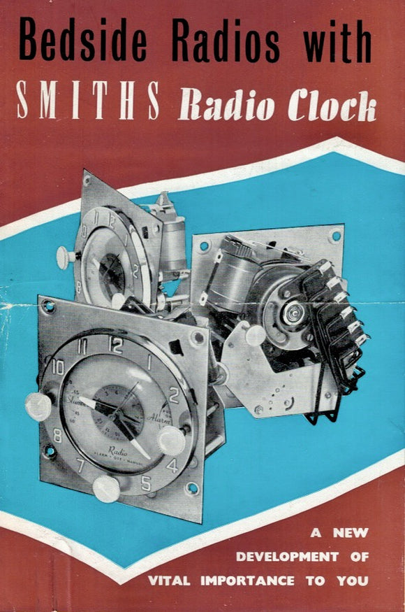 Original Smiths Radio Clock Advertising Leaflet
