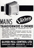 1940s Varley Three Henry Tapped LF Choke By Oliver Pell Control Ltd