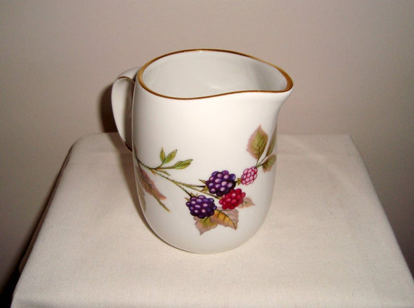 Vintage Royal Worcester Evesham Gold Small Milk Jug