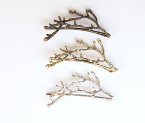 Nature Hair Clips