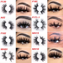Load image into Gallery viewer, 3D and 5D MINK LASHES WHOLESALE - 250 PAIR