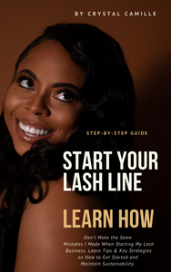 How to Start Your Lash Line eBook
