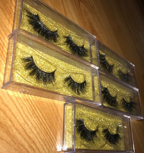 3D and 5D MINK LASHES WHOLESALE - 100 PAIR