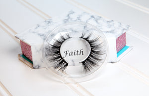 Faith : Tapered Luxe 100% Mink Lashes