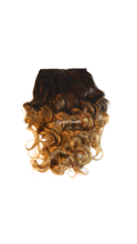 Load image into Gallery viewer, Ja'Nia : Luxe Synthetic Natural Deep Wave Half Wig