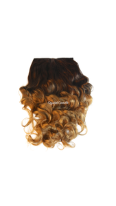 Ja'Nia : Luxe Synthetic Natural Deep Wave Half Wig