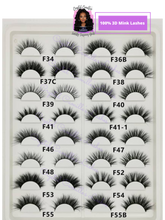 Load image into Gallery viewer, 3D and 5D MINK LASHES WHOLESALE - 500 PAIR