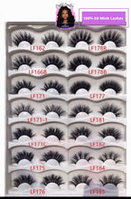 Load image into Gallery viewer, 3D and 5D MINK LASHES WHOLESALE - 30 PAIR