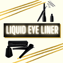 Load image into Gallery viewer, Vegan Smudge Proof Liquid Eye Liners