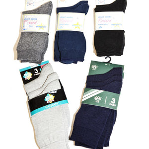 Black Boys Socks 3PK