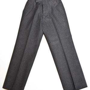 Grey Trousers Partly Elasticated Waist