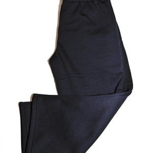 Navy Straight Jog Bottoms