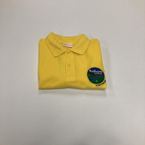 Rathore Gold Polo Shirt