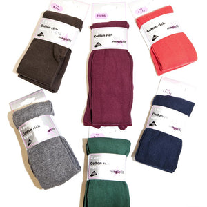 Wine Cotton Tights TWPK