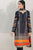 3PC Embroidered Lawn Suit with Lawn Dupatta-HHk10
