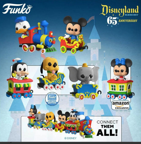 Disneyland 65th Anniversary Funko Pops estimated October delivery