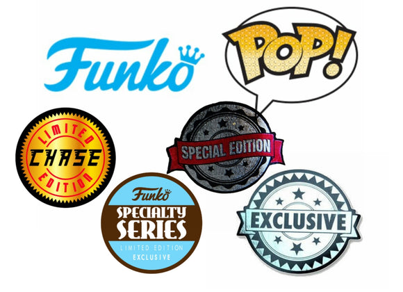 Funko Pop Chase and Exclusives